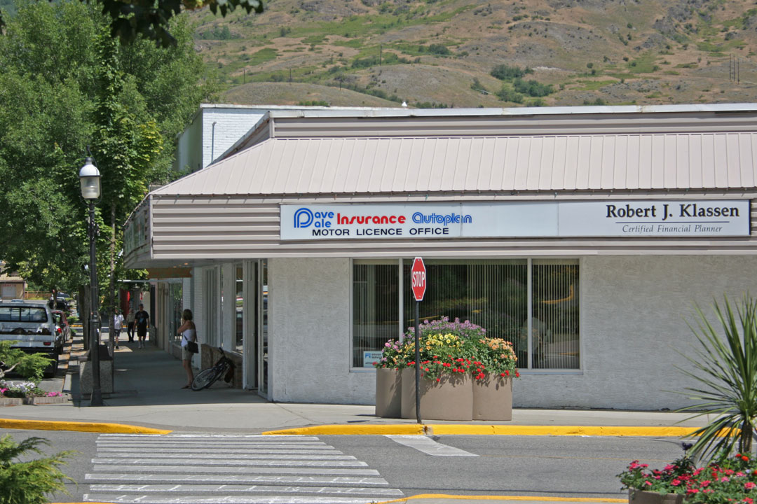 Dave Dale Insurance Location in Grand Forks, BC