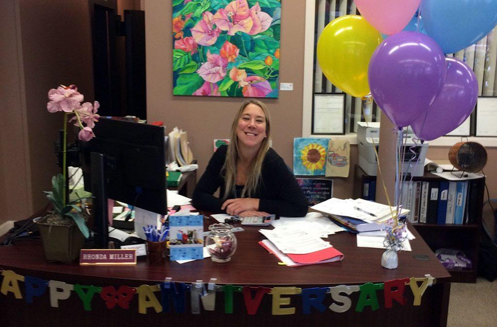 Rhonda Miller's 10 Year Anniversary